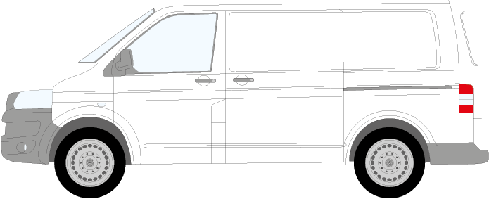 Volkswagen Transporter Swb 2015 Diy Signwriting